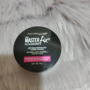 Maybelline master fix setting powder